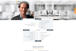 AVOPWebsite • UX design